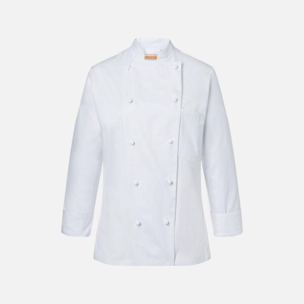 Női Séf kabát JF 1 Fehér