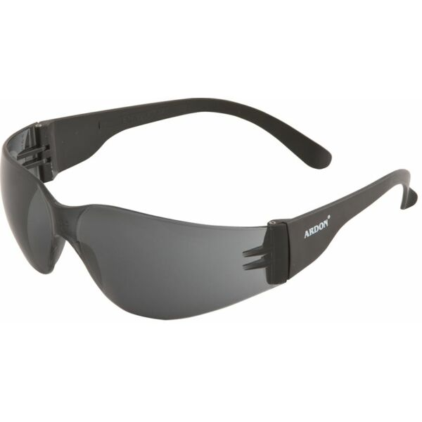 V9 füstszínű védőszemüveg