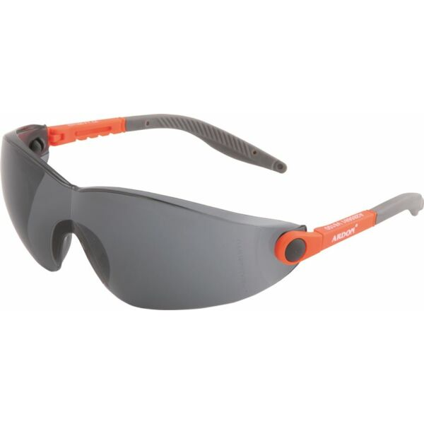 V6 füstszínű védőszemüveg
