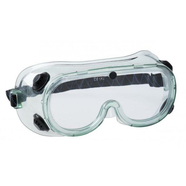 PS21 - Portwest gumipántos vegyi védőszemüveg