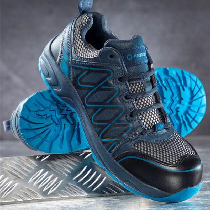 Visper védőcipő kék S1
